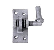 HINGE PINS PLATE MOUNTED ADJUSTABLE THREADED
