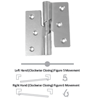 466 STEEL RISING BUTT HINGES