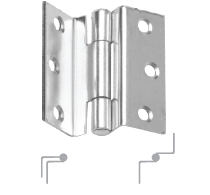 "3207 STEEL STORM PROOF BUTT HINGES 7/32"" GAP"